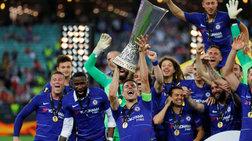 Το τρόπαιο της Europa League στην Τσέλσι