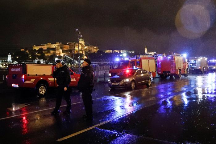 Ουγγαρία:Βυθίστηκε πλοιάριο με τουρίστες στο Δούναβη-7 νεκροί & αγνοούμενοι