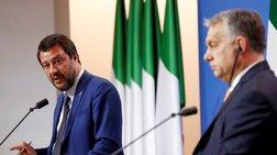 «Στοπ» του Ορμπάν σε Σαλβίνι για συνεργασία στην Ευρωβουλή