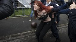 Εκδήλωση των Femen στο Παρίσι: «Σταματήστε τις γυναικοκτονίες!»-ΦΩΤΟ