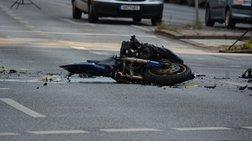 Νεκρός οδηγός μοτοσικλέτας σε τροχαίο στη Θεσσαλονίκη