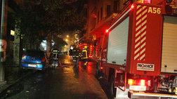 Νεκρός ηλικιωμένος από φωτιά σε μονοκατοικία στην Κυψέλη