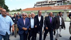 Ψήφισε στη Θεσσαλονίκη ο Κώστας Καραμανλής