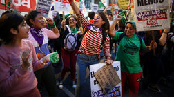 Αργεντινή: Χιλιάδες γυναίκες διαδήλωσαν κατά της βίας & υπέρ των αμβλώσεων