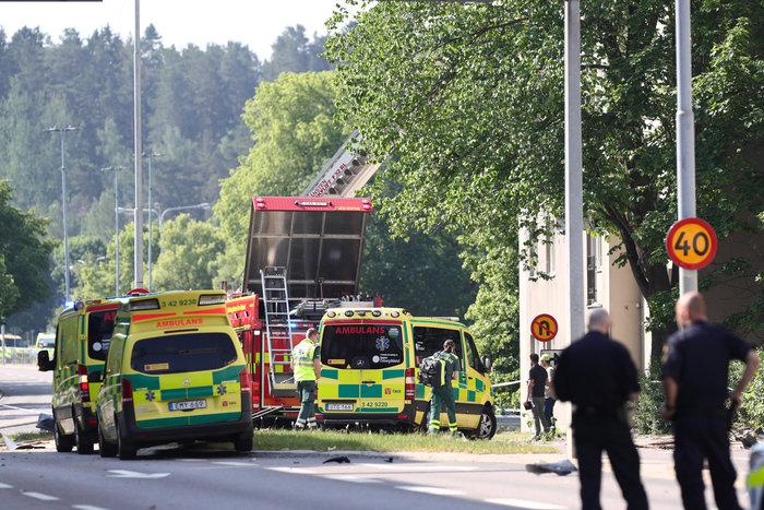 Toυλάχιστον 19 τραυματίες από την ισχυρή έκρηξη στη Σουηδία
