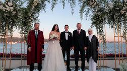 Παντρεύτηκε ο Μεσούτ Οζίλ, με μάρτυρα τον πρόεδρο Ερντογάν
