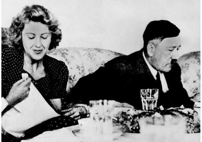 Ο Χίτλερ με την Εύα Μπράουν