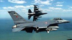Νέα υπερπτήση δύο τουρκικών F-16 πάνω από την Κίναρο