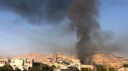 Ισχυρή έκρηξη στη Δαμασκό σε αποθήκη πυρομαχικών