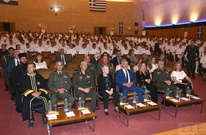Επίτιμη διδάκτωρ της Στρατιωτικής Σχολής Ευελπίδων η Ελένη Αρβελέρ - εικόνα 3
