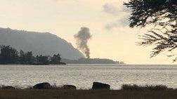 Toυλάχιστον 9 νεκροί από πτώση αεροσκάφους στη Χαβάη