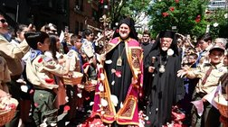 Όλα όσα έγιναν στη τελετή ενθρόνισης του Αρχιεπισκόπου Αμερικής Ελπιδοφόρου