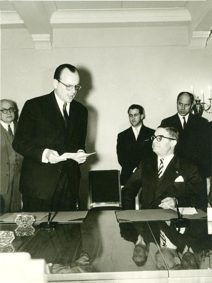 Βρυξέλες - Σύνδεση ΕΟΚ - 1961