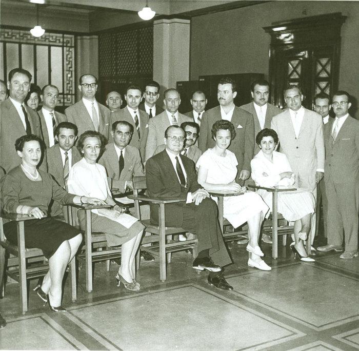 Σχολή Τραπεζιτικών Σπουδών στην Τράπεζα της Ελλάδος - Τάξη 1960 - 1961