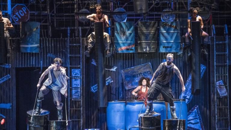 Αποτέλεσμα εικόνας για STOMP: Οι βασιλιάδες του ρυθμού στο Θέατρο Βράχων