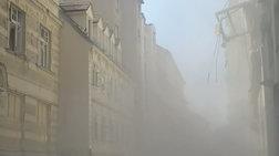 Έκρηξη Βιέννη: Κατέρρευσαν όροφοι από 2 κτίρια, 4 σοβαρά τραυματίες - Video