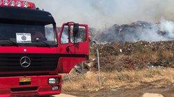Υπό μερικό έλεγχο η πυρκαγιά στο Λαύριο