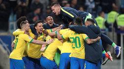 Λαχτάρισε η Βραζιλία - Στα πέναλτι νίκησε την Παραγουάη (βίντεο)