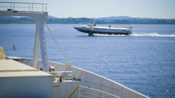 Μηχανική βλάβη σε flying dolphin - Επιστρέφει στον Πειραιά