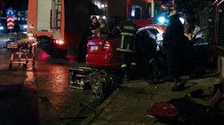 Τρεις τραυματίες σε τροχαίο στο Μαρούσι
