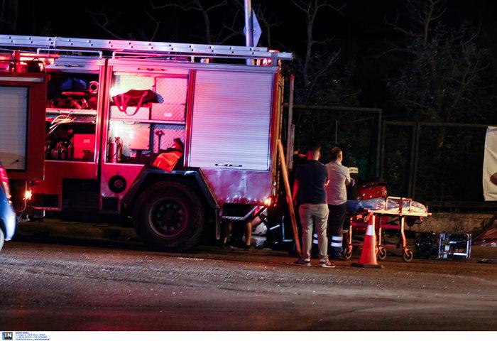 Τρεις τραυματίες σε τροχαίο στο Μαρούσι - εικόνα 2