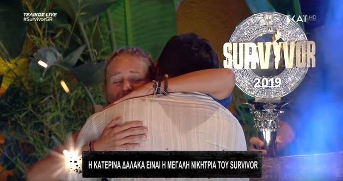 Survivor 3: Η Κατερίνα Δαλάκα επέστρεψε,αγωνίστηκε ξανά & πήρε όλο το χρήμα - εικόνα 2