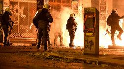 Νέα επεισόδια κατά αστυνομικών στα Εξάρχεια, έξω από το ΥΠΠΟ