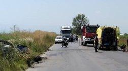 Βέροια: Ένας νεκρός και δύο τραυματίες σε σύγκρουση τριών αυτοκινήτων