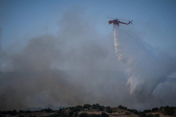 Τέσσερα τα πύρινα μέτωπα στην Εύβοια - Τι εκτιμά η Πυροσβεστική - εικόνα 2