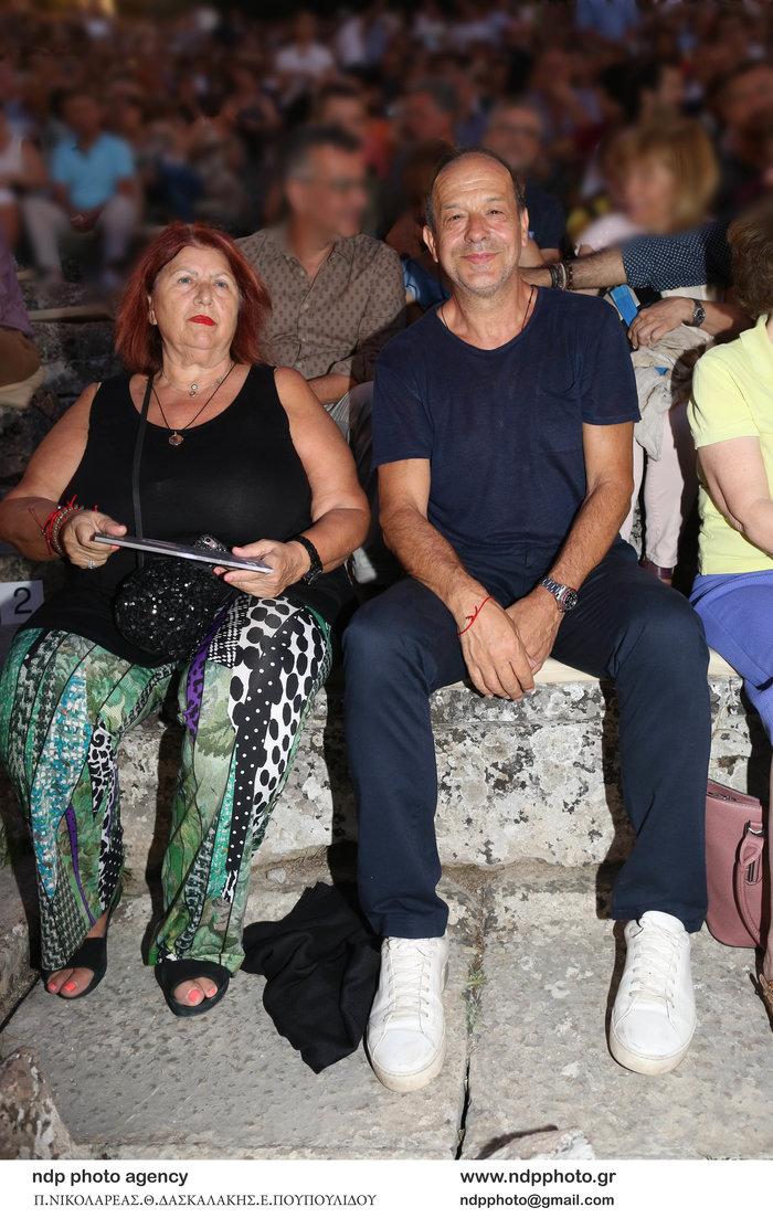 Φωκάς Ευαγγελινός: Η σπάνια εμφάνιση με την σύζυγό του-είναι μαζί 26 χρόνια