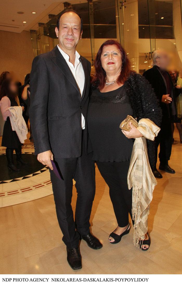 Φωκάς Ευαγγελινός: Η σπάνια εμφάνιση με την σύζυγό του-είναι μαζί 26 χρόνια - εικόνα 3