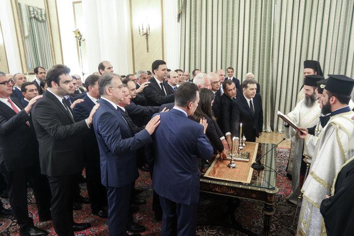 Ορκίστηκε η νέα κυβέρνηση του Κυριάκου Μητσοτάκη [φωτογραφίες] - εικόνα 7