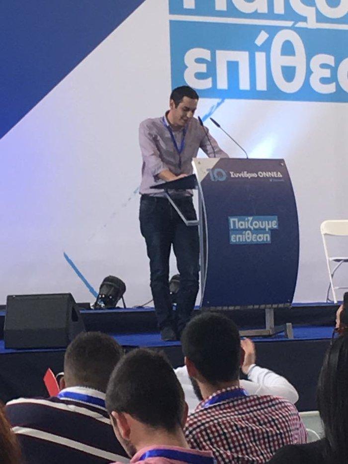 Αυτος είναι ο πιο νέος βουλευτής του ελληνικού Κοινοβουλίου