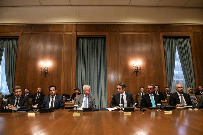 Μητσοτάκης προς υπουργούς: Ο στόχος ψηλά, το βλέμμα χαμηλά - εικόνα 6