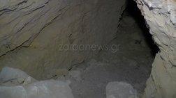 Το τούνελ που βρέθηκε νεκρή η Αμερικανίδα βιολόγος στην Κρήτη [φωτό-βίντεο]