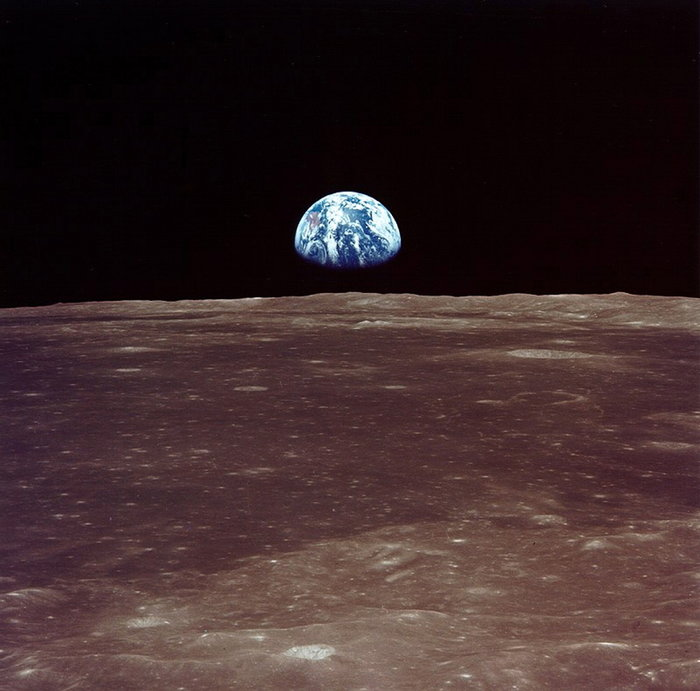 Η Γη από τη Σελήνη