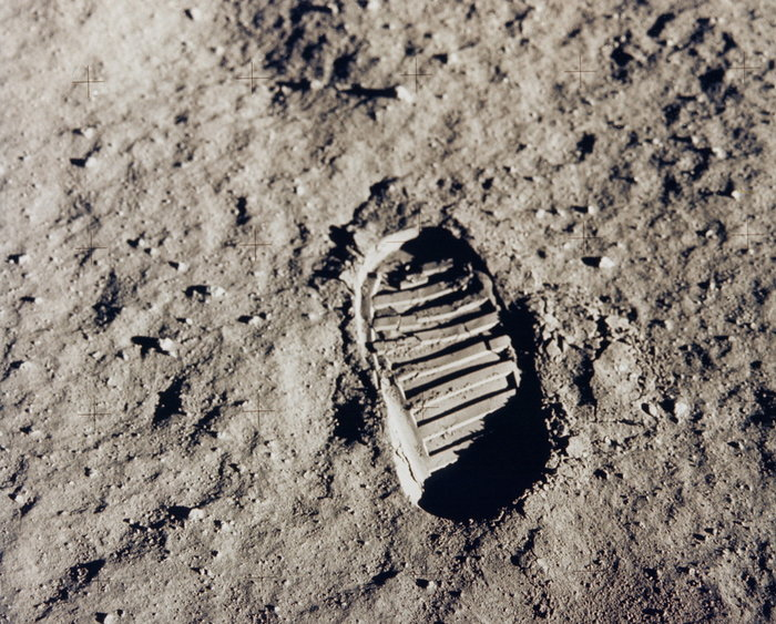 Ανθρώπινο χνάρι στη Σελήνη