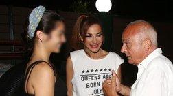 Μελίνα Νικολαΐδη: Η πολύ μοδάτη εμφάνιση δίπλα στη... ροκ μαμά της