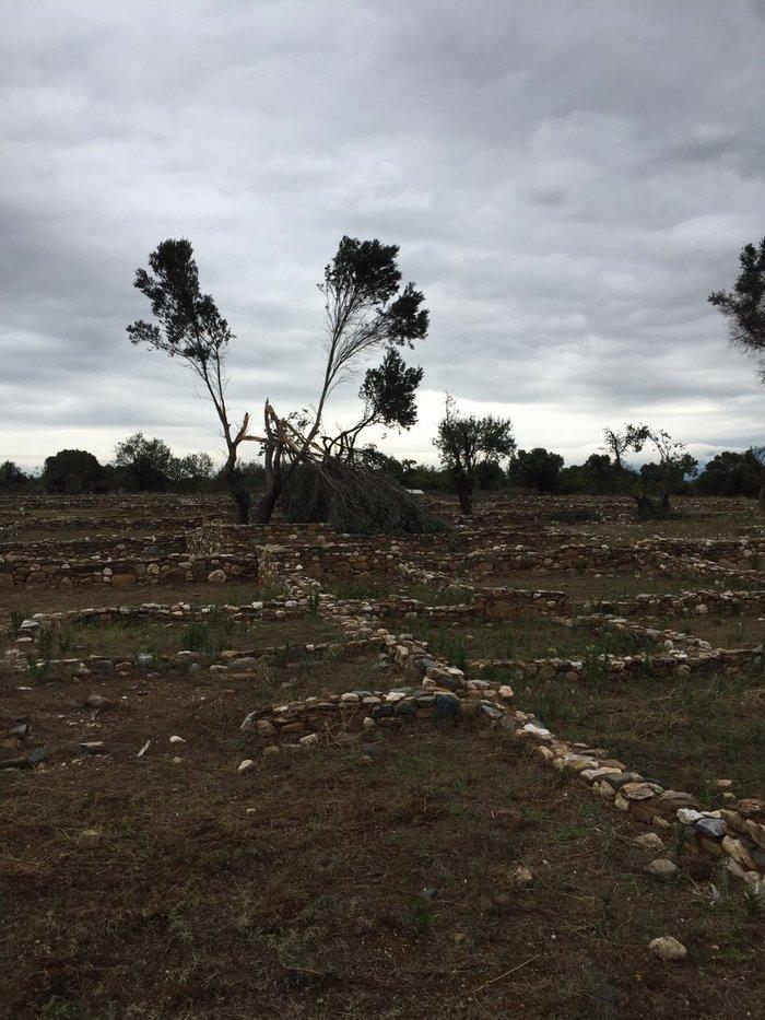 """Χαλκιδική: Η καταιγίδα """"χτύπησε"""" τους αρχαιολογικούς χώρους"""