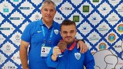 «Χάλκινος» πρωταθλητής κόσμου ο  Μπακοχρήστος στα -54 κιλά
