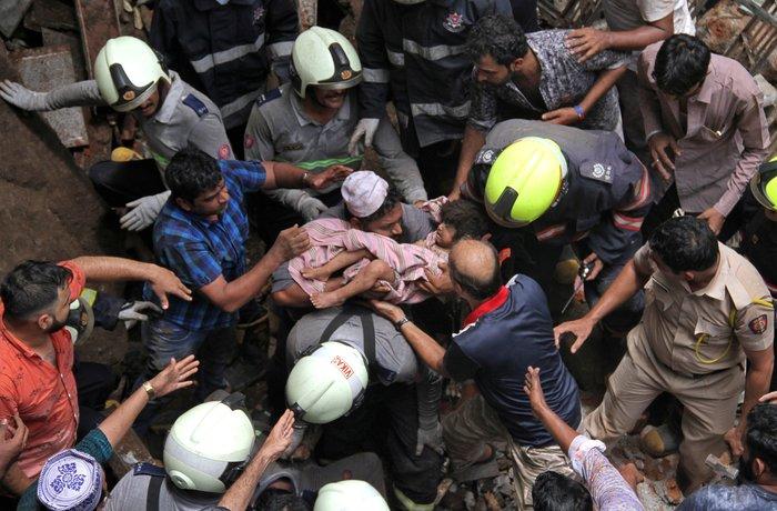Ινδία: Νέα κατάρρευση κτιρίου - Τέσσερις νεκροί, 40 αγνοούμενοι
