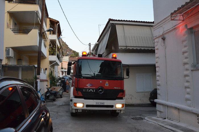 Ναύπλιο: Νεκρή ηλικιωμένη από φωτιά στο σπίτι της