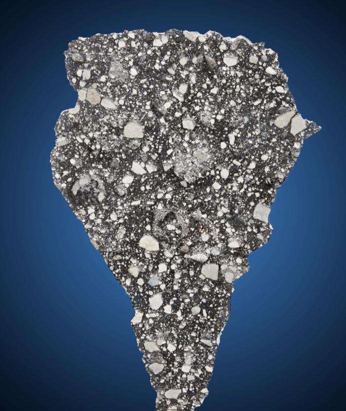 Σπάνιες φωτογραφίες με σεληνιακά πετρώματα και μετεωρίτες