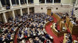 """Βουλή: 158 """"Ναι"""" στις προγραμματικές δηλώσεις της κυβέρνησης"""