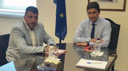 Συνάντηση Αυγενάκη με τον πρόεδρο της Football League