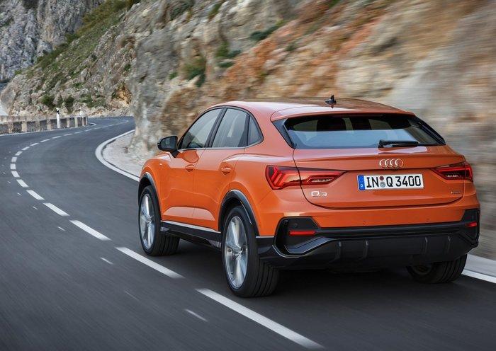 Το Audi Q3 Sportback: Το SUV που αγάπησε ένα κουπέ