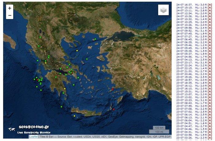 Σεισμός 3 Ρίχτερ στην Αττική, ίδιο επίκεντρο με της 19ης Ιουλίου