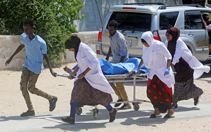 Εκρηξη στο δημαρχείο του Μογκαντίσου: 7 νεκροί και πολλοί τραυματίες