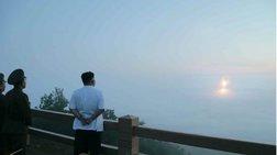 Δοκιμαστική εκτόξευση δύο πυραύλων από τη Βόρεια Κορέα