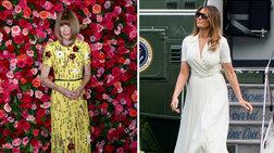 Άννα Γουίντουρ: Η σιδηρά κυρία της Vogue «ισοπέδωσε» τη Μελάνια Τραμπ